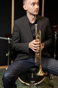 Nervoso trompetista