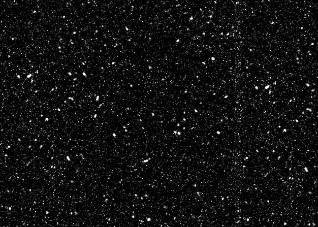 Neve de estrelas no céu noturno