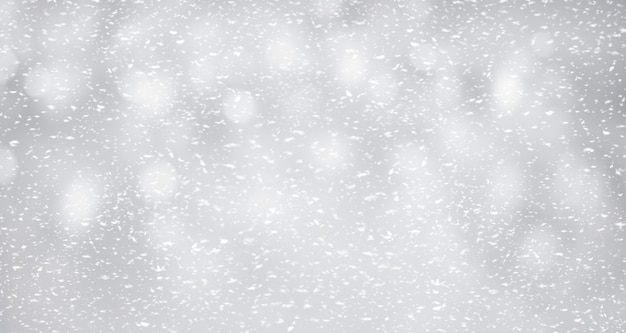 Neve em background.winter prata e ideia de conceito de natal.