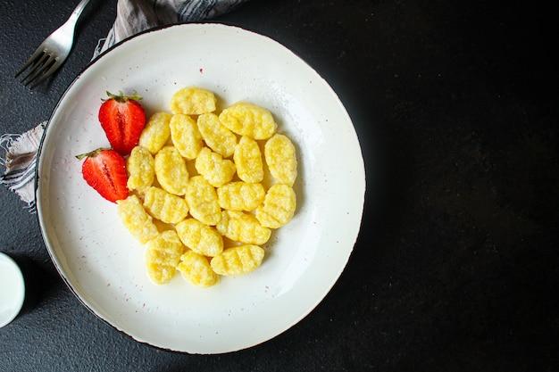 Nhoque delicioso prato doce