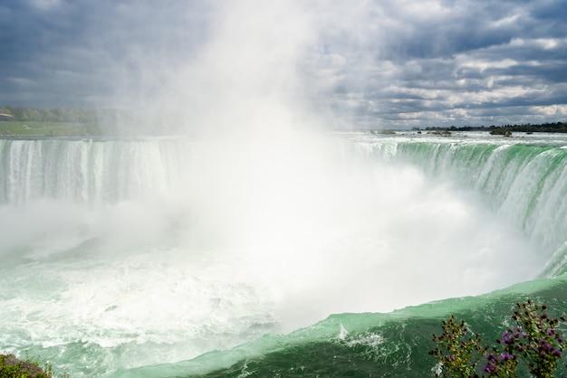 Niagara cachoeira de canadense ferradura cai no canadá