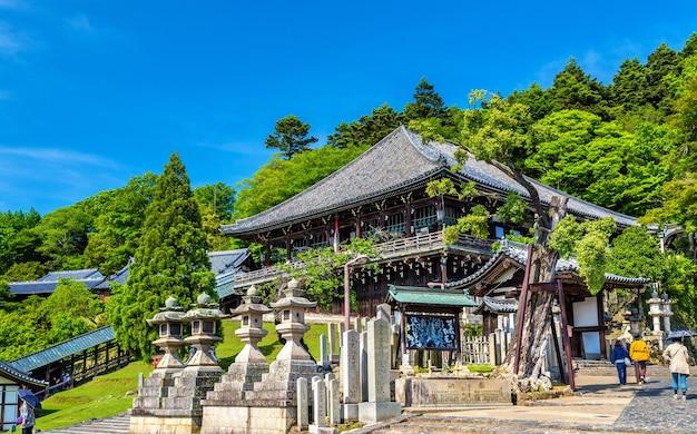 Nigatsu-do, um salão do templo todai-ji em nara, japão