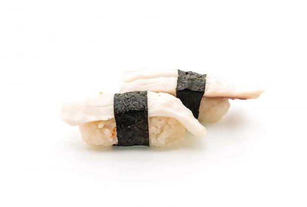 Nigiri de sushi de polvo - estilo de comida japonesa