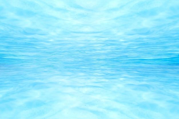 No azul