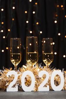 Noite de comemoração do ano novo 2020