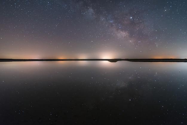 Noite na lagoa