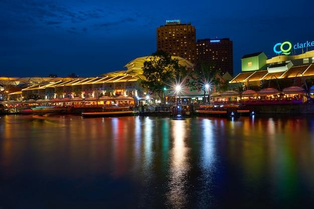 Noites de trabalho cidade paisagem exposição longa