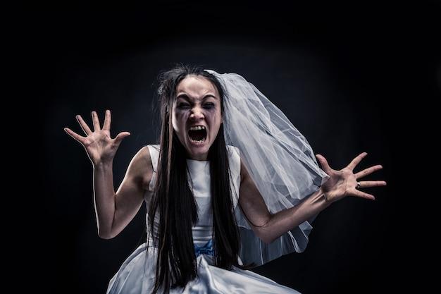 Noiva gritando