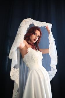 Noiva vestida de noiva