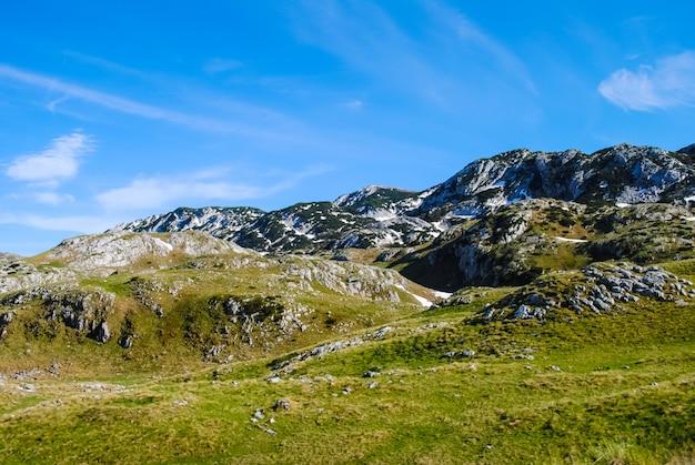 Norte do montenegro, o território da reserva zabljak
