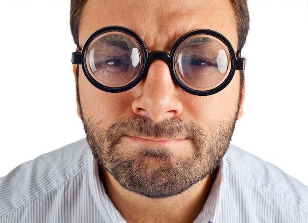 Nossa expressão com óculos