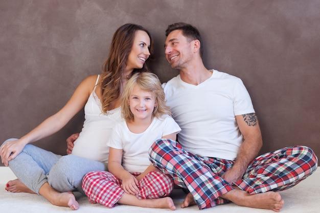 Nossa família é o mais importante para nós