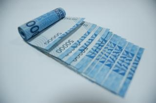 Nota de banco indonésio