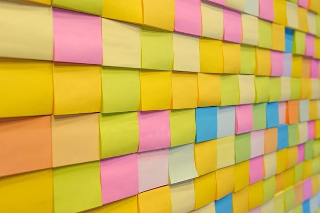 Nota de cor de papel