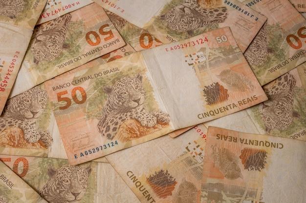 Notas da moeda brasileira