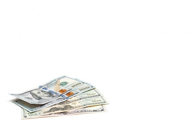 Notas de cem dólares americanos