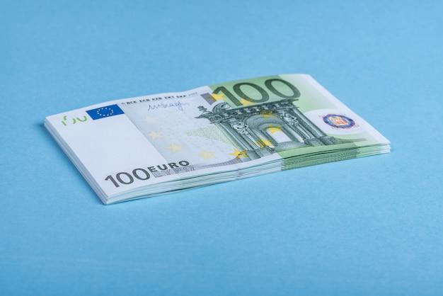 Notas de dinheiro do euro. euro- dinheiro. nota de euro