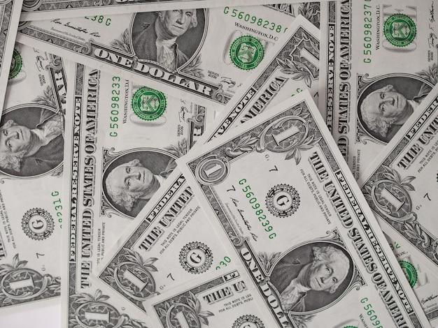 Notas de dólar 1 dólar