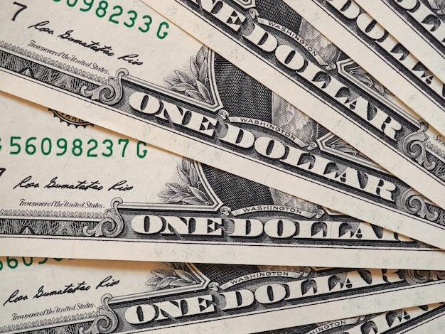 Notas de dólar, estados unidos