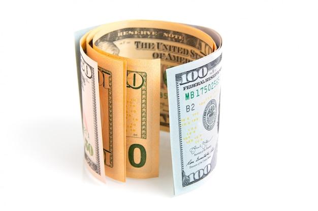 Notas de dólares americanos