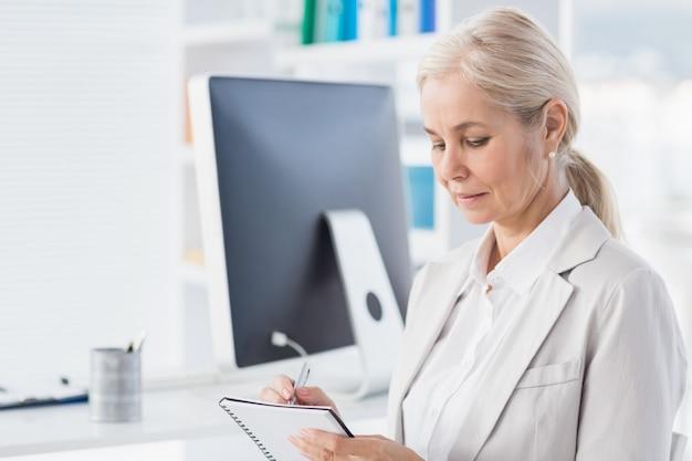 Notas de escrita de terapeuta