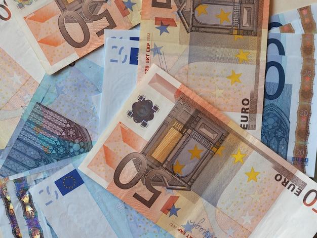Notas de euro (eur), união europeia (ue)