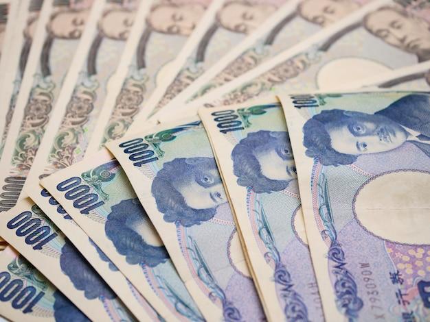 Notas de moeda japonesa, iene japonês