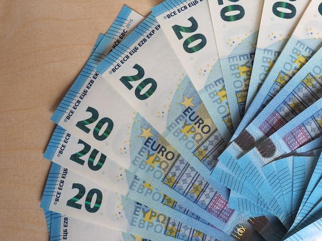 Notas e moedas de euro, união europeia