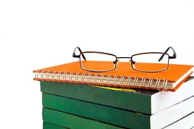 Notebook estudar planejamento da educação descansando
