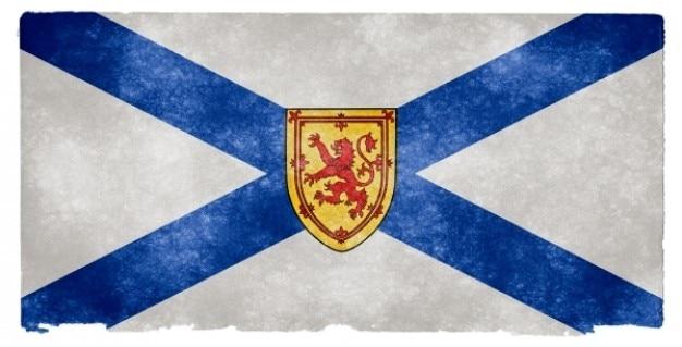 Nova escócia grunge bandeira