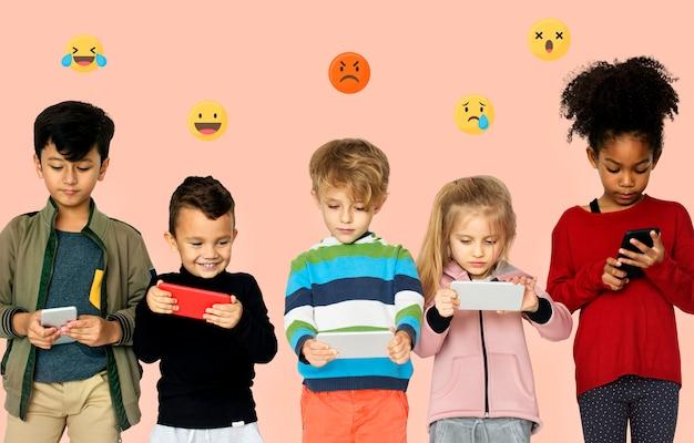 Nova geração de usuários de smartphones