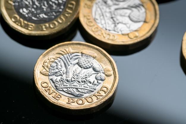 Nova moeda britânica de uma libra
