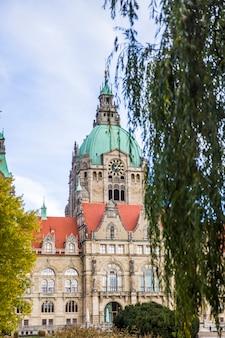 Nova prefeitura de hannover, alemanha