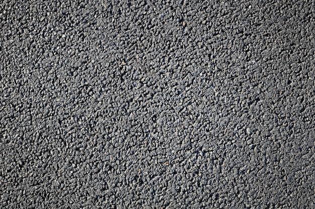 Nova superfície de asfalto