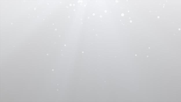 Novo ano 2020. fundo de bokeh. resumo de luzes. cenário de feliz natal. luz de brilho. partículas desfocadas. partícula branca múltipla