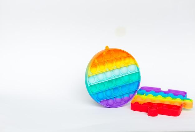Novo brinquedo colorido, anti-stress para pessoas, crianças. brinquedo da moda