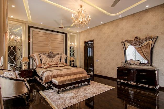 Novo design de quarto de luxo
