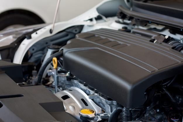 Novo detalhe do motor do carro