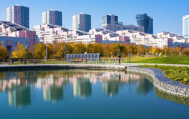 Novo parque paisagístico da cidade