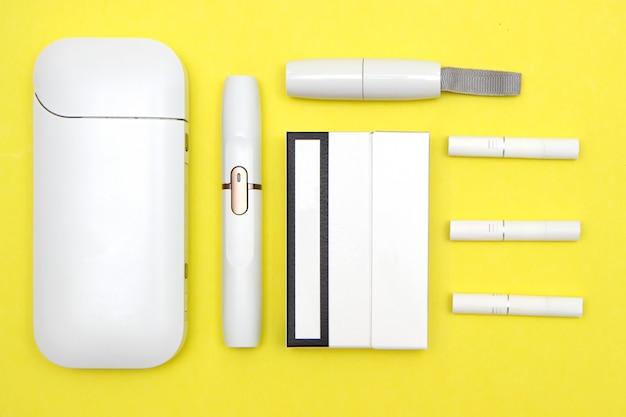 Novo sistema iqos de tabaco com tecnologia de cigarro eletrônico