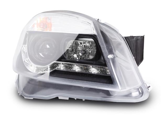 Novos faróis de lente de carro