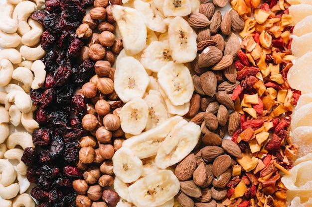Nozes e frutos secos misturados