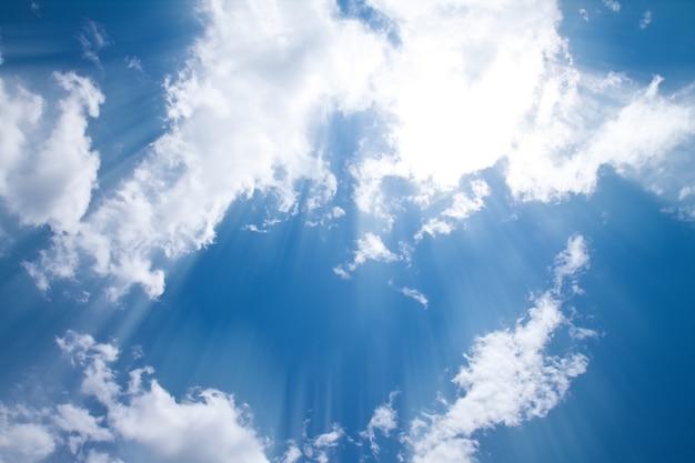 Nublado climáticas luz nave nublado