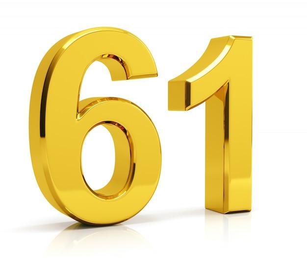 Número 61