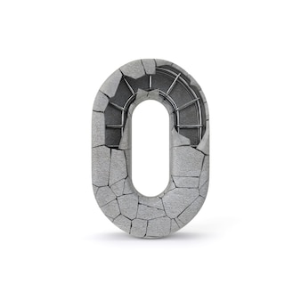 Número de concreto 0