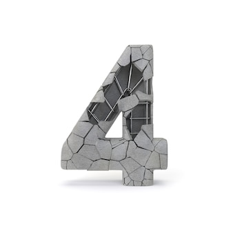 Número de concreto 4