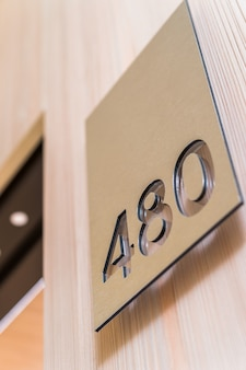 Número do apartamento