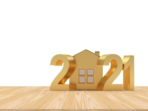 Números dourados de 2021 e casa
