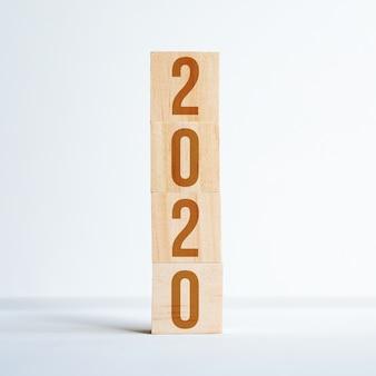Números simbolizando o ano novo