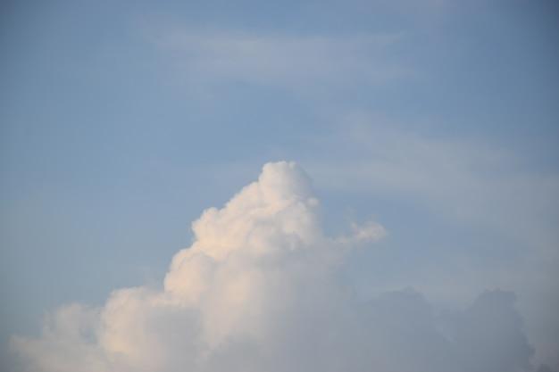 Nuvem azul céu